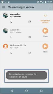 messagerie vocale visuelle android installer et consulter assistance orange. Black Bedroom Furniture Sets. Home Design Ideas