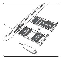 carte sim honor 6x Honor 6X : insérer la carte Nano SIM   Assistance Orange