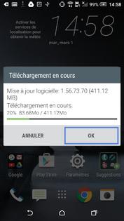 HTC : mettre à jour la version logicielle de votre mobile