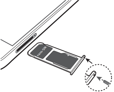 carte sim huawei p20 lite Huawei P20 Lite : insérer la carte Nano SIM   Assistance Orange