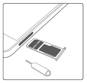 comment mettre carte sim dans huawei p8 lite Huawei P8 lite 2017 : insérer la carte Nano SIM   Assistance Orange