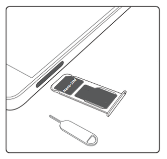carte sim huawei p9 lite Huawei P8 lite 2017 : insérer la carte Nano SIM   Assistance Orange