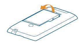 Installation de la carte SIM pour Lumia 530