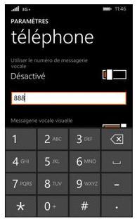 nokia lumia 530 enregistrer le num ro de la messagerie vocale assistance orange. Black Bedroom Furniture Sets. Home Design Ideas
