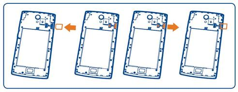 Orange nura introduire la carte micro sim assistance - Comment couper une carte sim en microsim ...