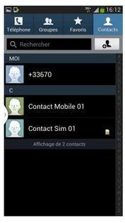 comment copier les contacts d une carte sim à une autre Samsung Galaxy S4 : copier les contacts d'un répertoire à l'autre