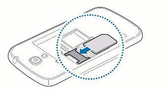 carte sim galaxy s4 Samsung Galaxy S4 Mini : insérer la carte SIM   Assistance Orange