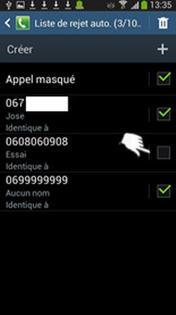 Samsung Galaxy S4 Mini Ajouter Ou Supprimer Un Numéro à La