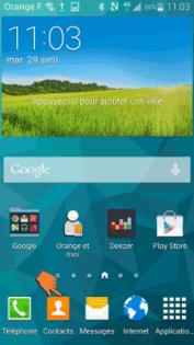 comment copier les contacts d une carte sim à une autre Samsung Galaxy S5 : copier les contacts d'un répertoire à l'autre