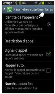 images détaillées à bas prix Clairance de 60% Samsung Galaxy Trend Lite : présenter ou masquer son numéro ...