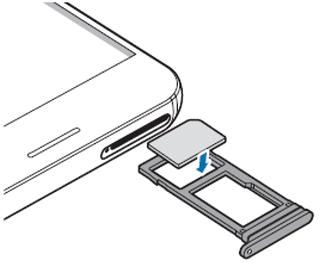 samsung a3 carte sim Samsung Galaxy A3 2017 : insérer la carte Nano SIM   Assistance Orange