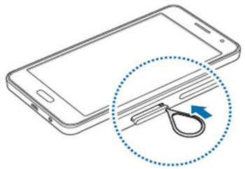 Samsung Galaxy A5 Inserer La Carte Nano Sim Assistance Orange