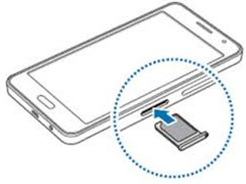 samsung galaxy a5 carte sim Samsung Galaxy A5 : insérer la carte nano SIM   Assistance Orange