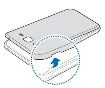 inserer carte sim samsung j3 2020 Samsung Galaxy J3 2016 : insérer la carte Micro SIM   Assistance