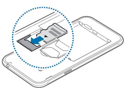 samsung galaxy j3 carte micro sd Samsung Galaxy J3 2016 : insérer la carte mémoire   Assistance Orange