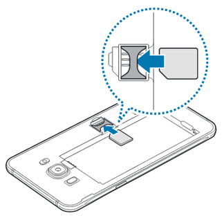 Samsung Galaxy J5 2016 Insérer La Carte Micro Sim Assistance Orange