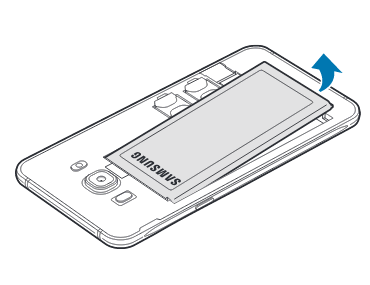 Samsung Galaxy J5 2016 Introduire La Carte Mémoire