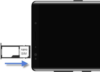 Samsung Galaxy Note 9 Inserer La Carte Nano Sim Assistance Orange