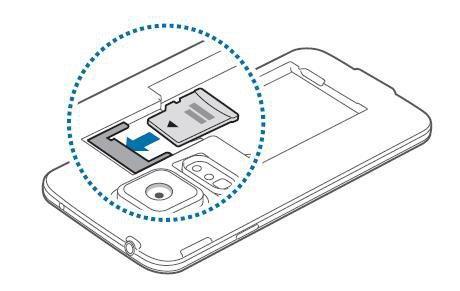 Samsung Galaxy S5 Inserer La Carte Memoire Assistance Orange