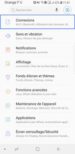 carte sim non configurée Samsung Galaxy S9 : activer ou desactiver une carte SIM
