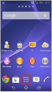 Sony Xperia E3 : réinitialiser le mobile - Assistance Orange