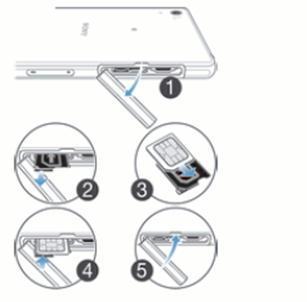 sony xperia carte sim Sony Xperia Z2 : introduire la carte SIM   Assistance Orange