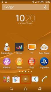Sony Xperia Z3 Compact : se connecter à une Livebox - Assistance Orange