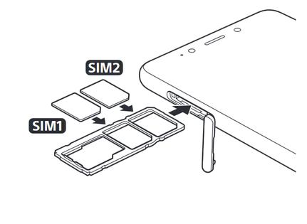 sony xperia carte sim Sony Xperia L3 : insérer la carte Nano SIM   Assistance Orange