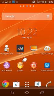 1504fb64c49459 Sony Xperia Z3 : activer ou désactiver le partage de connexion Wifi ...