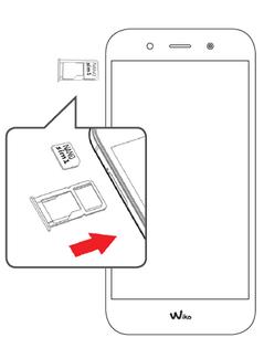 wiko wim lite carte sim Wiko WIM Lite : insérer la carte Nano SIM   Assistance Orange