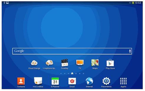 samsung galaxy tab 3 7 wifi activer ou d sactiver le wifi assistance orange. Black Bedroom Furniture Sets. Home Design Ideas