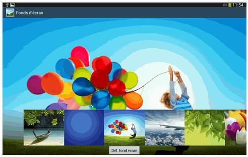 Samsung Galaxy Tab 3 7 Wifi Changer De Fond D Ecran Et D Ecran De Veille Assistance Orange