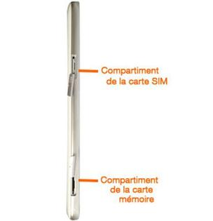 tablette samsung carte sim Samsung Galaxy Tab 3 7.0 wifi 3G : insérer la carte sim