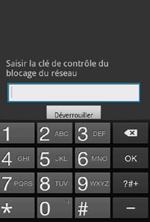 mobile tablette tous les mobiles et tablettes depanner desimlocker votre samsung galaxy tab  saisir le code de desimlockage