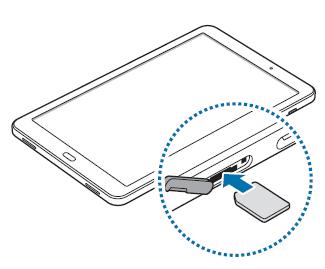 tablette samsung carte sim Samsung Galaxy Tab A 10.1 2016 4G : insérer la carte Nano SIM