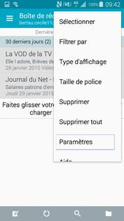 Configurer manuellement l'accès à vos boîtes mail sous Android