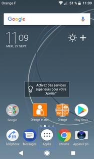Android 8 Oreo Pour Sony Copier Les Contacts Dun Repertoire A L