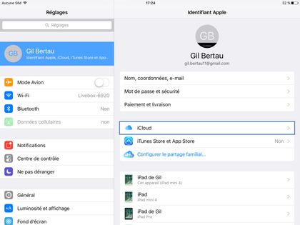 comment activer localisation iphone