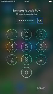 carte sim verrouillée orange iPhone iOS 10 : débloquer votre carte SIM   Assistance Orange