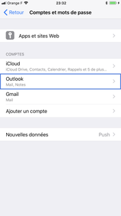 Supprimer Calendrier Outlook.Iphone Ios 11 Supprimer Un Compte Mail Assistance Orange