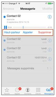 iphone ios 7 consulter la messagerie vocale visuelle assistance orange. Black Bedroom Furniture Sets. Home Design Ideas