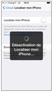 enlever la localisation iphone 8