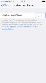 iphone ios 9 activer localisation
