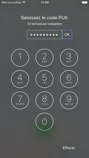 mobile tablette tous les mobiles et tablettes depanner obtenir le code puk iphone ios  debloquer votre carte sim