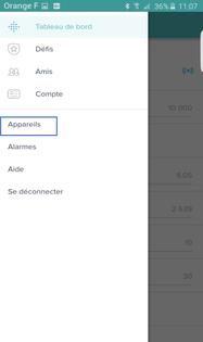 ios fitbit application en francais