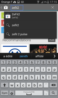 application zefit 2