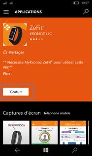 application zefit 2