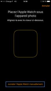 apple watch os 2 jumeler la montre avec votre iphone assistance orange. Black Bedroom Furniture Sets. Home Design Ideas