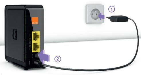 extender wi fi plus installer assistance orange. Black Bedroom Furniture Sets. Home Design Ideas