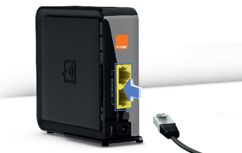 Brancher Prise Ethernet Murale